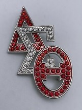 """Delta Sigma Theta - 2.5""""Brooch Stacked Letters - £14.34 GBP"""