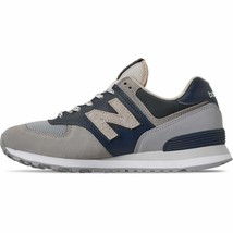Men's New Balance 574 Casual Shoes Navy/Taupe ML574MX - £57.26 GBP