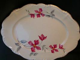 "Rosenthal Pompadour Beatrice 15"" Oval Platter - $42.99"