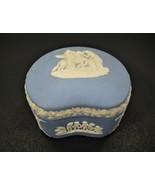 Vintage Wedgwood Jasparware Ring Box - Made In England - $30.97