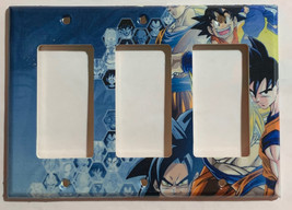 Dragon Ball Z Light Switch Power outlet phone jack Wall Cover Plate Home decor image 6