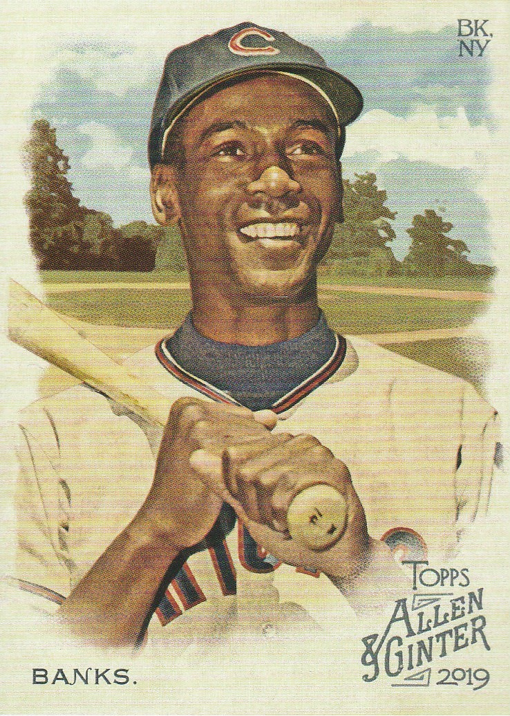 Primary image for 2019 Topps Allen and Ginter #20 Ernie Banks