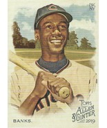 2019 Topps Allen and Ginter #20 Ernie Banks  - $0.50