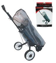 BRAND FUSION GOLF BAG RAIN CAPE, CLEAR PLASTIC, FIT'S MOST GOLF BAGS - $12.10