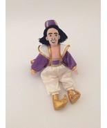 "DISNEY Aladdin purple gold white PRINCE ALADDIN DOLL 11"" small bean bag ... - $6.79"