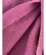 Eskandar Womens Sweater Cardigan Button Up Cotton Linen Magenta Purple S... - $99.95