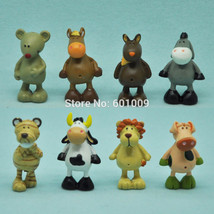 8pc Lot Set of - Mini Nici Animal Cartoon - Toys For Kids Boys Girls - $5.50