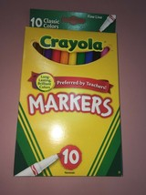 Crayola Fine Line Markers-Classic Colors 10 count - $5.46