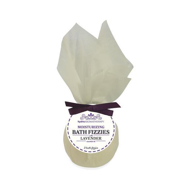 hydraAROMATHERAPY Bath Fizzies Lavender, 2 ct