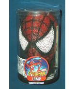 "NOS Spiderman Marvel Comics Kids 8"" Bedroom Lamp Night Light In Sealed P... - $44.53"