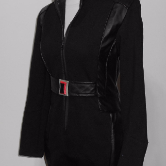 Black Widow cosplay costume from Captain America