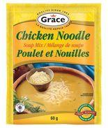 Grace Chicken Noodle Soup Mix 12 x 60g pouches  - $59.99