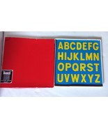 Lauri Early Learning Materials A to Z Panel Foam Puzzle Lot Vintage 1979... - $22.44