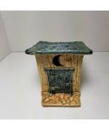 Thistledown Farm Pottery Laura C. Wailes Stoneware Outhouse - $37.39