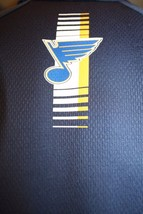 ST. LOUIS BLUES REEBOK Play-Dry Blue Note NAVY POLO/GOLF SHIRT MEN'S LG - $54.95
