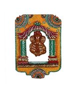 Indian Rajasthani Wooden Handcrafted Jharokha Picture Frame Set Display - $17.64
