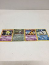 Lot Of 4 Pokemon Cards 1995-2004 - $15.47
