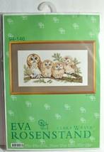 Eva Rosenstand Cross Stitch Kit Owl Family Birds/Nature Clara Waever Vin... - $67.72