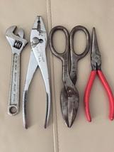 Vintage Crescent Mechanic Pliers Wrench - $39.65