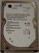 "NEW ST980815A Seagate 80GB IDE 44PIN 2.5"" 9.5MM Hard Drive Free USA Shipping"