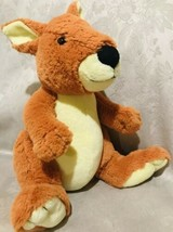 "Kohl's Cares Kangaroo Plush Eric Carle 2012 Stuffed Animal Soft Toy Orange 12"" - $12.37"