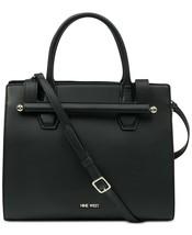Nine West Medium Aracely Satchel Handbag - Black #56 - $44.99