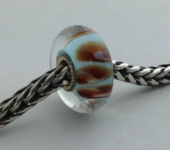 Authentic Trollbeads Aquarium Pastel Bead Charm 61312, New - $24.24