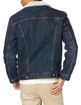 Levi's Strauss Men's Sherpa Lined Cotton Denim Jean Trucker Jacket 163650115 image 8