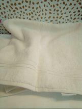 FIELDCREST 2Pc  Towel Set 100%Cotton 1 HAND Towel & 1 Washcloth -ALMOND CREAM- image 8