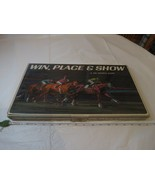 Win, Place, & Show 3M sports board game RARE horse racing 1966 programs ... - $42.50