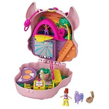 Polly Pocket Llama Music Party Compact with Stage, Spinning Dance Floor, Food - $18.98