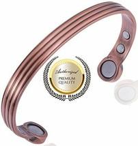Magnetic Copper Bracelet Men or Women for Arthritis With Big Magnets - $11.87