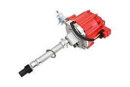 SBC 62-74 CHEVY CORVETTE TACH DRIVE 327 350 383 HEI DISTRIBUTOR RED 65K COIL image 6
