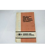 1976 Chevrolet Med & Heavy Duty Gasoline Truck Owners Manual Models 40 t... - $12.82