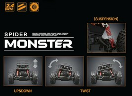 Bandi Toys Spider Monster Wireless RC Radio Controlled Remote Control Car Vehicl image 2