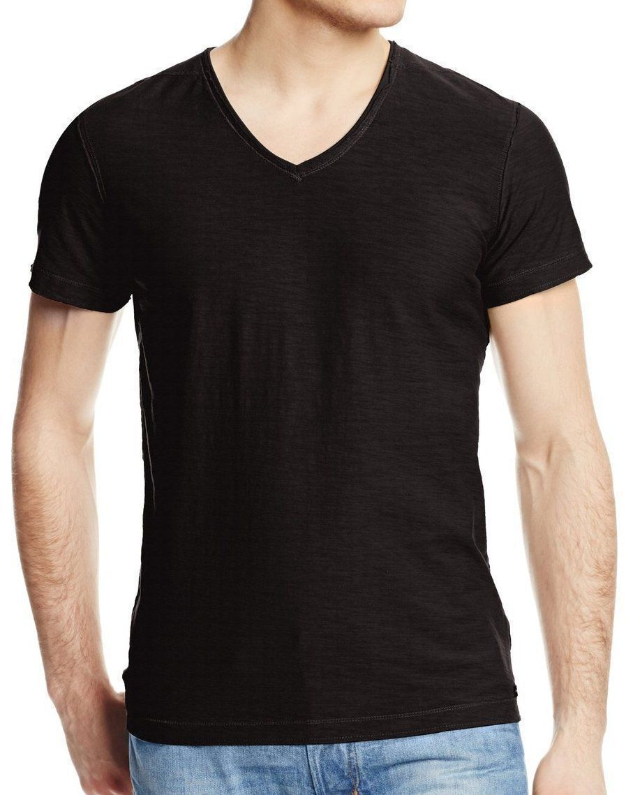 BRAND NEW DIESEL MEN'S PREMIUM COTTON GRAPHIC T-SHIRT T-TOSSIK BLACK