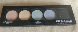 L'Oreal Paris Cosmetics Infallible Total Cover 225 Color Correcting Kit Palette - $5.45
