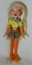 Bratz Chloe Candyz Doll With Orange Legs & Shoes Original Outfit Rare - $29.69