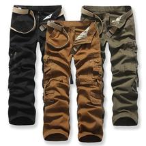 High Quality Plus Size Men's Brand New Fashion Loose Outdoor Trousers Leisure  F