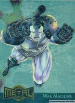 1995 Marvel Metal Gold Blaster Card 17 of 18 War Machine - $3.91