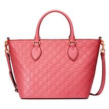 Gucci Women's Bubblegum Pink Microguccissuma Handbag  - £1,527.61 GBP