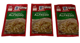 McCormick Creamy Garlic Alfredo Sauce Mix 3 Packs Discontinued Best By 3/2021 - $26.73