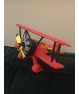 FISHER-PRICE FP-217 Imaginext Red Baron BIPLANE 2006 Airplane propellor ... - $24.74