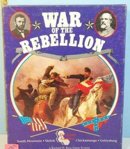 War of The Rebellion American Civil War Decision Games 1993 1/2 Punched #B2 - $34.84