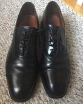 Allen Edmonds Park Avenue Cap Toe Oxford Dress shoes Black Size 11.5AA - $79.15