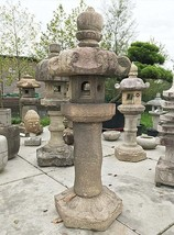 Antique Edo Period Japanese Stone Lantern Kasuga Gata - 0101-0045 - $9,650.00