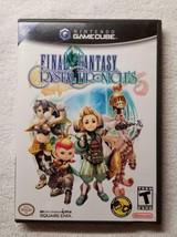 Final Fantasy: Crystal Chronicles (Nintendo GameCube, 2004) CIB w/ Manua... - $40.00