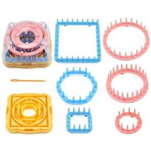 Loom Flower Pattern Maker Knitting 9pcs Yarn Daisy Knit Wool Needle Hobb... - $11.66 CAD