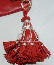 Handbag Republic Brand HG0024 Red Vegan Womens Purse With Large Tassel Detail image 4