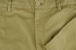 Joseph Abboud Men's Golden Wheat Cotton Casual Flat Front Pants 38 x 28 - $26.99